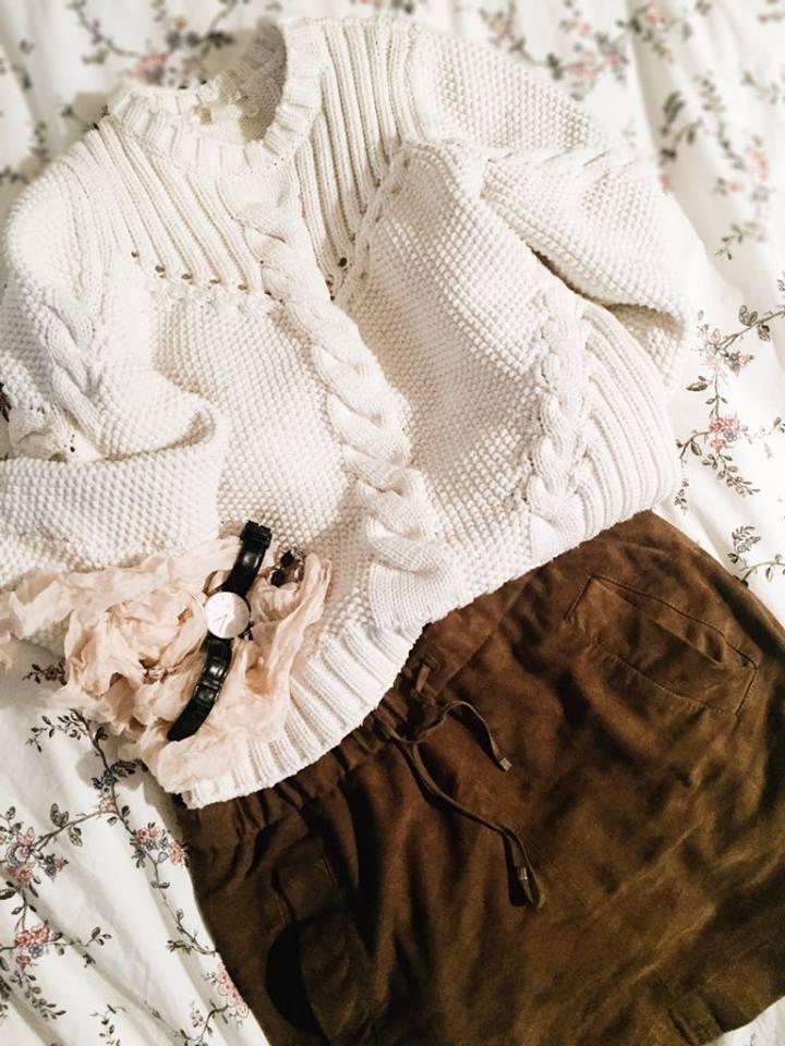 Fashion pull laine cos jupe massimo dutti 1