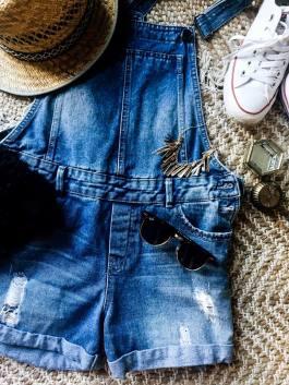 Fashion salopette jeans