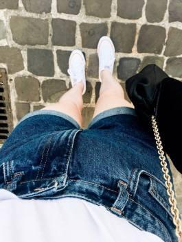 Fashion short jeans zara