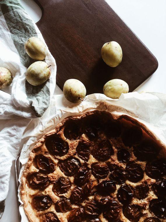 Tarte aux prunes recette maison