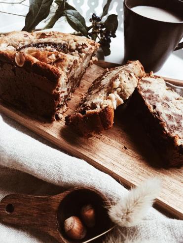 banana bread gateau dessert recette 1