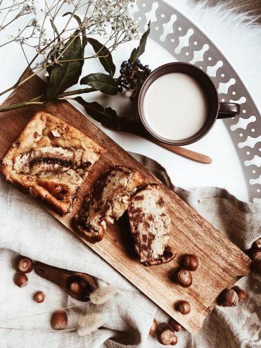 banana bread gateau dessert recette