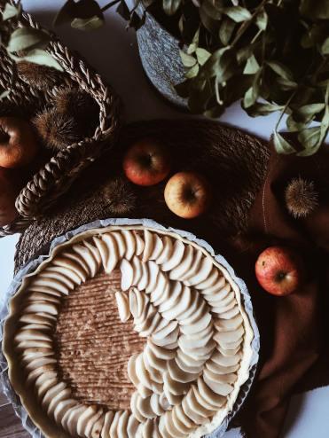 Tarte aux pommes recette automne blog