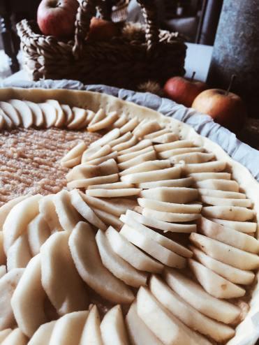 Tarte aux pommes recette automne